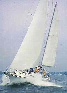 Dickerson 41 under sail